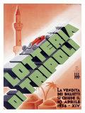 Lotteria di Tripoli Giclee Print by Luigi Martinati