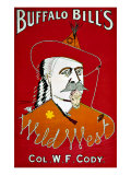 Wild West Buffalo Bill Giclee Print