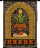 Pineapple Urn Wall Tapestry by Walter Robertson