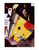 Tension en hauteur Posters par Wassily Kandinsky