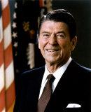 Ronald Reagan, 1981-1989, Giclee Print