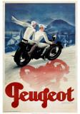 Max Ponty - Peugeot Plakát