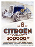 Citroen, Une 8 CV Giclee Print by Louys 