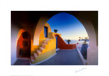Sunlit Steps Prints by Georges Meis
