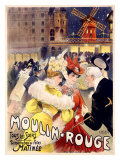 Moulin rouge Reproduction proc&#233;d&#233; gicl&#233;e
