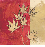 Gilded Maple Prints by Matina Theodosiou