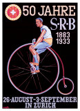 S.R.B. Bicycle Federation Giclee Print by Emil Huber