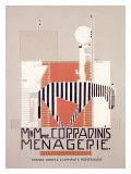 M. & Mme Coradini's Menagerie Giclee Print by Alfonso Iannelli