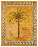 Palm Tree II Poster by Javier Fuentes