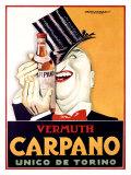 Vermuth Carpano, Unico de Torino Giclee Print by Achille Luciano Mauzan