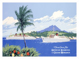 Fumess Cruise Ships Giclee Print by Adolph Treidler