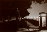 London Embankment At Night Posters