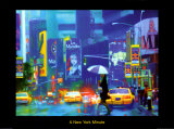 New York Minute Prints by Richard M. Swiatlowski