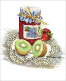 Kiwi and Jam Prints by Consuelo Gamboa
