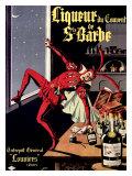 Liqueur Ste. Barbe Giclee Print by  Conchon