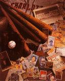 Baseball II Kunst von Michael Harrison