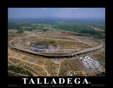 Talladega Speedway - Alabama Posters by Mike Smith