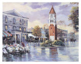 Flower Market Print by Alan Sakhavarz