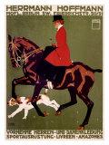ベルリンの馬術ショー, 狩猟家のジャンパー ジクレープリント : ルートヴィッヒ・ホールヴァイン