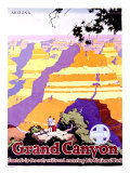 Santa Fe Railroad, Grand Canyon Giclee Print