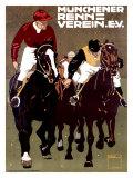 Munchener Renn Verein Giclee Print by Ludwig Hohlwein