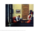 Room in New York Art by Edward Hopper