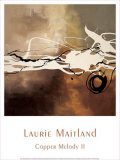 Copper Melody II Posters par Laurie Maitland