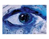 Eye Giclée-tryk af Rabi Khan
