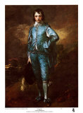 Ragazzo blu Poster di Gainsborough, Thomas