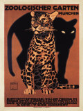 Zoologischer Garten, 1912 Plakater