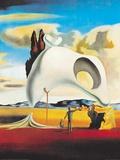 Vestigia ataviche dopo la pioggia, 1934 Stampa di Salvador Dalí