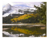 Emerald Lake 5499 Photographic Print by Vic Harshberger