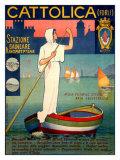Barque Cattolica Impression giclée