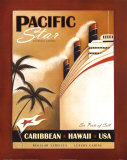 Pacific Star Posters by Jo Parry