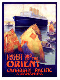 Canadian Pacific Orient Giclee Print