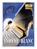 Yvonne Blanc Giclee Print by  Jac