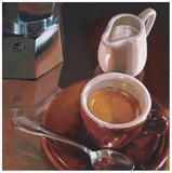 Caffe del Mattino Affiches par Federico Landi