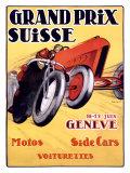 Grand Prix Schweiz Giclée-Druck von Charles Loupot