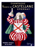 Champagne Vicomte de Castellane Epernay Giclee Print by Leonetto Cappiello