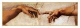 La creazione di Adamo, dettaglio circa 1510 Stampe di Michelangelo Buonarroti,