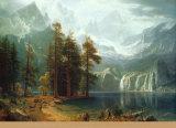 Sierra Nevada in California Prints by Albert Bierstadt