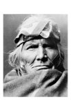 Zuni Elder Giclee Print by Edward S. Curtis