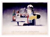 Dubonnet, Vin Tonique Quinquina Giclee-trykk av Adolphe Mouron Cassandre