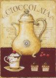 Kakaokännchen und Törtchen Poster von G.p. Mepas