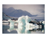Icebergs Photographic Print by Mary Lane