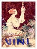 Vini Giclee Print by C. Santini