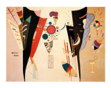 Accord Reciproque 1942 Affiches par Wassily Kandinsky