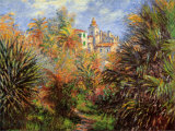 Jardin de Bordighera Prints by Claude Monet