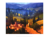 Tuscan Valley View Posters by Philip Craig