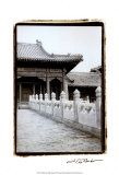 Forbidden City Walk, Beijing Poster by Laura Denardo
